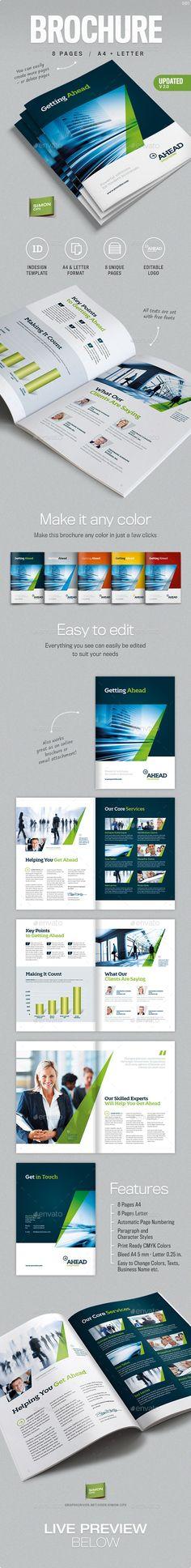 Company Profile Brochure - Corporate Brochures   Brochure Templates ...