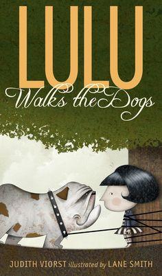 Lulu Walks the Dogs-- Lane Smith