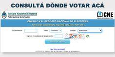 BALOTAJE 2015 > Donde voto ? Consultar el padrón electoral