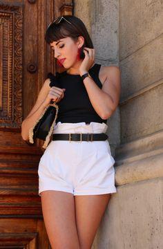 Nagy Zsófia ma elegánsabb szettet választott White Shorts, Short Dresses, Glamour, Outfit, Pink, Women, Fashion, Clothes, Moda
