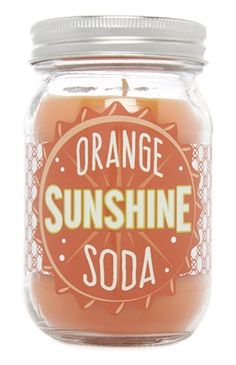 Orange Sunshine Soda Candle
