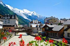 First Stop - Chamonix, France for the Mont Blanc Marathon