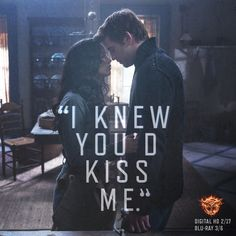 """That's the only way I get your attention."" - Gale Hawthorne on Katniss Everdeen, #Mockingjay"