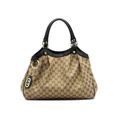 Gucci Women Beige Top Handle 211944 FAFXG 9769