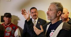 Watch Jon Stewart And 9/11 First Responders Actually Change A GOP Senator's Mind They convinced him to back the expiring health and compensation program for first responders and victims.