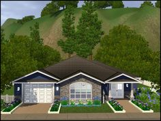 Sim Decor Ideas On Pinterest | My Sims Starter Home And House Plans