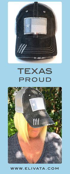be18f4d130c9f Don t mess with  Texas Love this Texas Flag hat in neutral gray colors