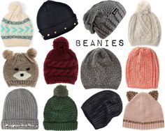 I got 2 beanies for Christmas, and I've been constantly wearing them!!♡