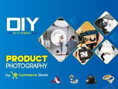 Are you struggling to capture great photos for your eCommerce store? If yes, you need not worry. Instead of just going through trial and error, you should try to follow a detailed guide. We will today share with you a DIY guide to product photography for eCommerce stores. #ecommercestore #DIY #photography #ecommercephotography #studiophotography