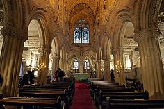 Rosslyn Chapel (Scotland). Love the architecture and history behind this building.