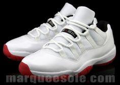Air Jordan 11 Low GS White/Red (May 2012)