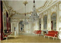 Schoenbrunn palace interior