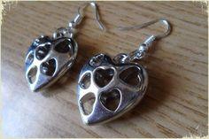 Silvia Jewellery of Style: Orecchini ragazzine cuore argentato