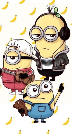 Minion wallpaper iphone funny wallpapers ideas for 2019 Minion Wallpaper Iphone, Cute Wallpaper For Phone, Wallpaper Iphone Disney, Cartoon Wallpaper, Minion Art, Cute Minions, Funny Minion, Minion Painting, Minion Pictures
