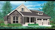 A few tweaks.. Ranch Home Plan with 2294 Square Feet and 3 ...