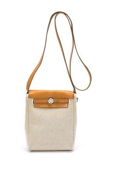 Vintage Hermes Cotton Herbag Tpm Shoulder Bag By On Hautelook