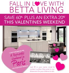 Valentine's Weekend Competition to Paris