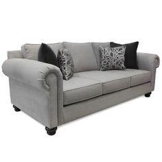 GALLERY FURNITURE CUSTOM CONTEMPORARY WHEAT SOFA @Mandy Bryant Sloan Furniture