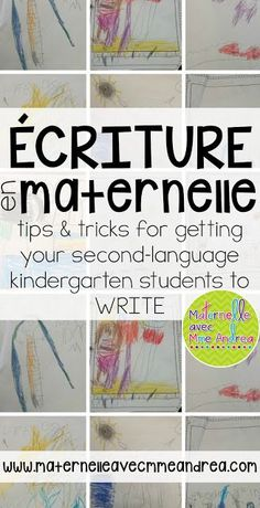 Classroom tips & tricks, resources and teaching ideas for the primary French classroom - immersion or French first-language French Teaching Resources, Teaching French, Teaching Ideas, Learning French For Kids, French Language Learning, Kindergarten Writing Activities, Reading Recovery, French For Beginners, French Education