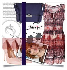 """Rosegal 10"" by amra-hadzic ❤ liked on Polyvore featuring Topshop, Lodis, vintage and rosegal"