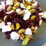 Bieten-geitenkaas-salade, gezond lunchgerecht!