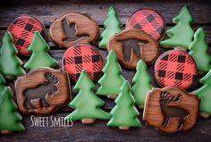 Hunting / Forest Cookies  Moose | Geese | Elk