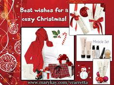 May you have a cozy Mary Kay Christmas!!! www.marykay.com/vcarretta