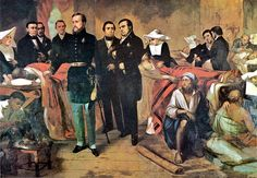 Pedro II (Second Emperor of Brazil) and his ministers