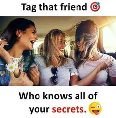 tag that friend/ saniya Best Friend Quotes Funny, Besties Quotes, Cousin Quotes, Girly Attitude Quotes, Girly Quotes, Funny School Jokes, Funny Memes, Best Friends Forever Quotes, Friend Jokes