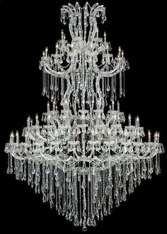 e221bddaf09f (Limited Supply) Click Image Above  Elegant Lighting Maria Theresa 85 Light  Large Foyer Chandelier In Chrome With (clear) Strass Swarovski Crystal