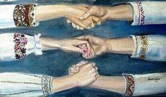 Ukraine United! <3 Travel To Ukraine, Ukrainian Art, My Heritage, American Women, Cross Stitch Embroidery, Culture, History, Homeland, Ua