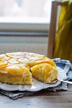 Tarta de naranja y almendra {Recuperándome de todo un poco} «