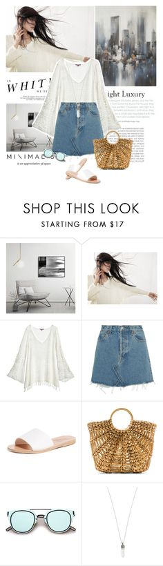 """""""Easy way"""" by solespejismo on Polyvore featuring moda, Madara, Calypso St. Barth, RE/DONE, Ancient Greek Sandals, ellen & james, ZeroUV y Marc Jacobs"""