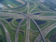 Ridderkerk interchange , Netherlands