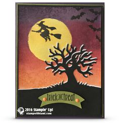 BLOG HOP & GIVEAWAY: How to make a spooky fun Halloween card | Stampin Up Demonstrator - Tami White - Stamp With Tami Crafting and Card-Making Stampin Up blog