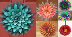 Flor con conos de papel Caballo Spirit, Rose Blood, Succulents, Plants, Ideas, Fine Paper, Easy Crafts, Crafts To Make, Gift Boxes