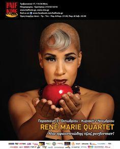 René Marie Quartet @ Half Note Jazz Club (31/10 - 2/11/2014)