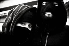 How the 'black bloc' protected the