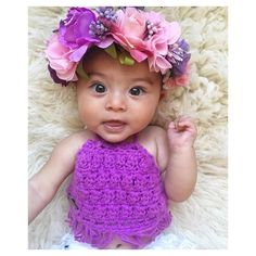@roneil__ This little babe shines in her new purple Crochet Boho Halter Top. This Halter Top comes in a wide range of colours. Sizes 00 to 3 - $20 Sizes 4 to 8 - $25 Post $3.50 Aust International Post add $7.50 DM with PayPal email address for invoicing…