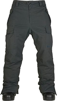 Bike Travel Cases - 686 Authentic Infinity Cargo Pant Gunmetal Herringbone Small *** See this great product.