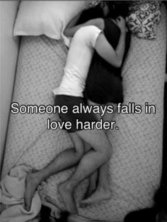 Falls in love harder...why is it always me?