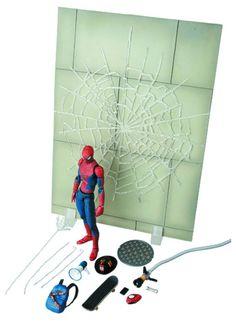 Figura The Amazing Spiderman 2. Exclusive Mafex 003,16cm, Medicom Figura articulada de 16cm, creada por Medicom, del personaje protagonista de la película The Amazing Spiderman 2.