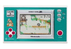 Before anything with a plug game the Game and Watch series of games. Proud to say Donkey Kong Jr is still on the go, and a favourite of my mum's.