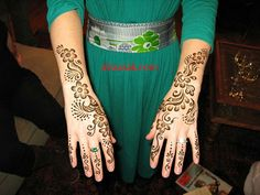 Simple Arabic Mehndi Designs- Henna Design for beginners kids
