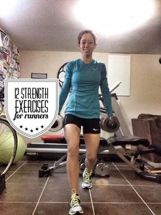 sure where to start with strength training? These 12 moves will help your running.Not sure where to start with strength training? These 12 moves will help your running. Weight Training For Runners, Strength Training For Runners, Strength Training Workouts, Running Workouts, Running Tips, Running Women, Training Exercises, Cross Training For Runners, Running Plans