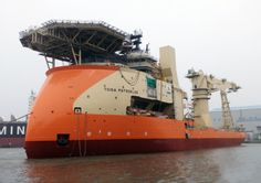 Ulstein's Largest Multipurpose Offshore Vessel Featuring X-BOW Nearing Completion