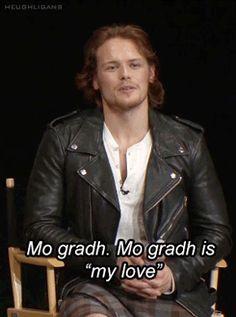Sam's favorite Gaelic words #Outlander