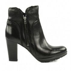 ba69ae0aa0baa Bottines en cuir à talon   Sacha Shoes. MALIN SHOPPER · Chaussures Femmes    MS