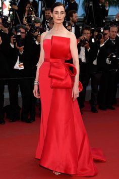 Erin O'Connor in Ralph & Russo Couture | Carol premiere, Cannes Film Festival 2015