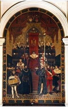 26. The Reconciliation of the Skinners and Merchant Taylor's Companies Great Fire Of London, The Great Fire, King John, King George, Tower Of London, London City, Taylor And Company, Frederick Leighton, Thanksgiving Service